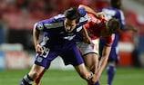 Anderlechts Sacha Kljestan (links) im Spiel gegen Benfica