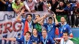 Italy delight in their second triumph