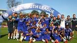 O Chelsea venceu a segunda edição da UEFA Youth League