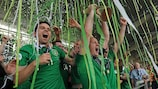 Victoria irlandesa en la Copa de las Regiones