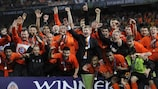Watch Shakhtar's 2009 UEFA Cup win in Istanbul