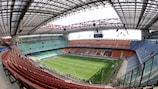 All eyes will be on the Stadio San Siro on Saturday night