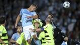 Markus Rosenberg köpft Malmö gegen Celtic in Front
