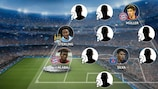 Champions League team of the group stage