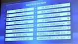 Achtelfinale der Champions League ausgelost