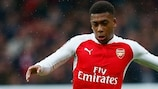 Alex Iwobi has broken into the Arsenal first team this season