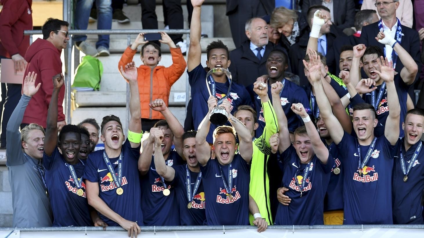 UEFA Youth League winners' profile: Salzburg | UEFA Youth League ...