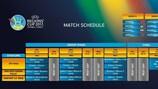 Le calendrier de la phase finale de la Coupe des Régions