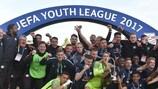 """""""Зальцбург"""" празднует победу в Юношеской лиге УЕФА-2016/17"""
