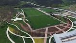 O complexo TFF Riva é o palco principal da fase final da Taça das Regiões da UEFA de 2017