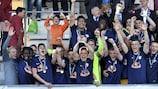 Salzburg will defend their trophy