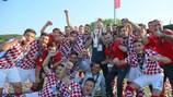 Zagreb feiert seinen Sieg im Finale des Regionen-Pokals