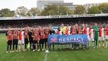 Feyenoord e Shakhtar promovem a Semana de Acção