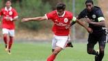Benfica e Manchester United empataram a dois golos esta quarta-feira