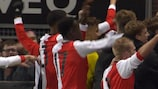 Feyenoord are through to the play-offs