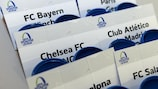 The UEFA Youth League knockout phase draw takes place on Friday