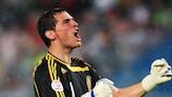 Spaniens Torhüter Iker Casillas will sein Land zum EURO-Titel führen