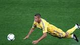 Yevhen Khacheridi forma parte de las esperanzas de la selección ucraniana.