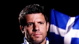 Takis Fyssas (Grécia) fala ao UEFA.com
