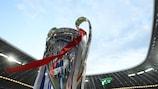 O troféu da UEFA Champions League