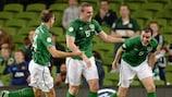 Irlanda convence frente ao Cazaquistão