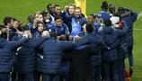 Francia remontó la eliminatoria y estará en la fase final del Brasil