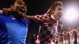 Kroatien war nach dem Abpfiff überglücklich