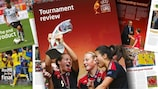 The UEFA Women's EURO 2013 tournament review is available now