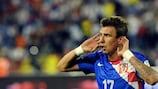 Mario Mandžukić wurde in der Kader Kroatiens berufen