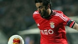 Sílvio in action for Benfica
