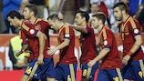 Spanien hat die bestplatzierte Nationalmannschaft in Europa