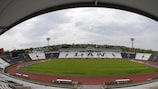 The match was held at the Partizan Stadium in Belgrade