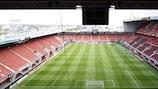 Das Stadion vom FC Twente in Enschede gehört zu den Austragungsorten