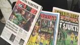 Schwedische Zeitungen am Mittwochmorgen