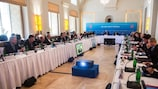 The UEFA Executive Committee meeting in Prague on Monday