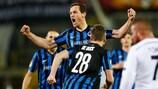 Tom De Sutter roars with delight after bringing Club Brugge level