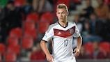 Joshua Kimmich in Aktion für die deutsche U21 – wird er auch bei der UEFA EURO 2016 dabei sein?