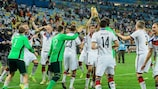 Holders Germany were among the top seeds