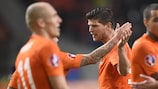 The Netherlands will visit Sweden in their opening qualifying fixture
