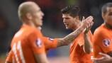 A Holanda visita a Suécia no primeiro jogo da qualificação