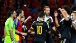 Eden Hazard celebra un tanto ante Andorra