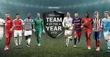 Abstimmen für das Team des Jahres 2015