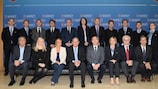 The UEFA anti-doping panel at its meeting in Nyon