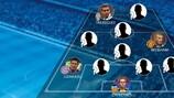 Jedes Team des Jahres von UEFA.com seit 2001