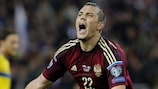 Artem Dzyuba racked up eight goals for Russia in UEFA EURO 2016 qualifying
