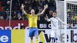 Zlatan Ibrahimović zeigt seine Frustration im Spiel gegen die Tschechen