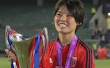 Saki Kumagai makes the 18 after scoring the winning penalty in the final