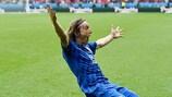 Luka Modrić dopo il gol a Parigi