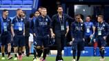 A Itália enfrenta um teste complicado frente à Bélgica, rival no Grupo E