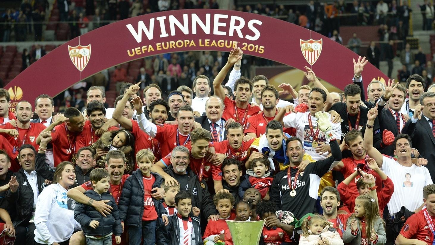 Sevilla's first four final successes | UEFA Europa League ...